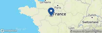 Map of Domaine des Hauts de Loire, France
