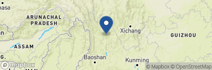 Map of The Halfway Lodge, China