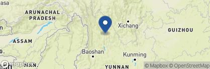 Map of Amandayan, China