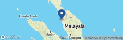 Map of Eastern & Oriental Hotel, Malaysia