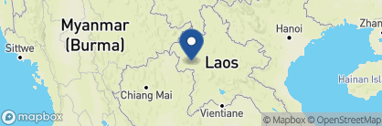 Map of Luang Say Lodge, Laos