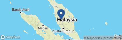Map of The Lakehouse, Malaysia