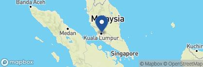 Map of Villa Samadhi, Malaysia