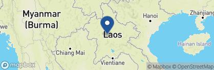 Map of Maison Souvannaphoum, Laos