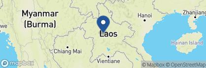 Map of Satri House, Laos