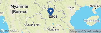 Map of Belmond La Residence Phou Vao, Laos