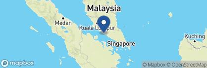 Map of The Majestic Malacca, Malaysia