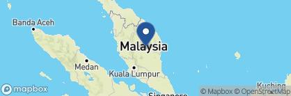 Map of Taman Negara Resort, Malaysia