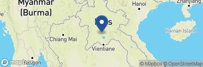 Map of Riverside Boutique Resort, Laos