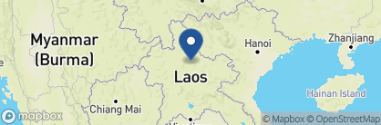 Map of Mandala Ou, Laos