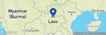 Map of Nong Khiaw Riverside Resort, Laos