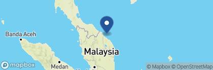 Map of Bubu Long Beach Resort, Malaysia