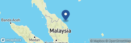 Map of Taaras Beach & Spa Resort, Malaysia