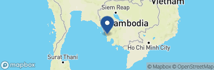 Map of Cardamom Tented Camp, Cambodia