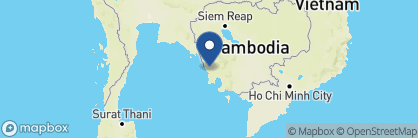 Map of 4 Rivers Floating Lodge, Cambodia