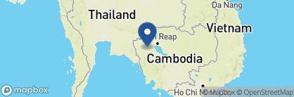Map of Maison Wat Kor, Cambodia