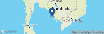 Map of Six Senses Krabey Island, Cambodia