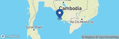 Map of Song Saa Private Island, Cambodia