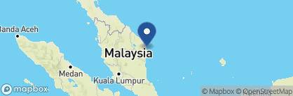 Map of Tanjong Jara Resort, Malaysia