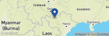 Map of Victoria Hotel, Vietnam
