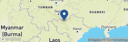 Map of King Express Deluxe Train, Vietnam