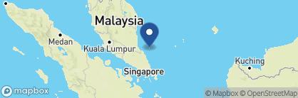 Map of JapaMala, Malaysia