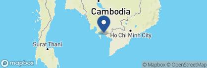 Map of Knai Bang Chatt, Cambodia