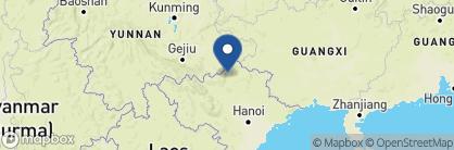 Map of Tay Village Homestay, Vietnam