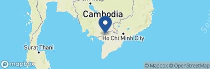 Map of Sampan, Vietnam
