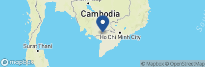 Map of Victoria Chau Doc, Vietnam