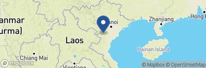 Map of Pu Luong Eco Retreat, Vietnam