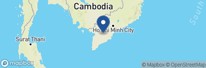 Map of Victoria Can Tho, Vietnam