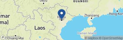 Map of Hanoi La Siesta Hotel and Spa, Vietnam