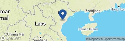 Map of Emeralda, Vietnam