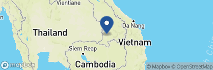 Map of The River Resort, Laos