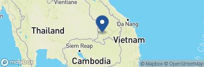 Map of La Folie Lodge, Laos