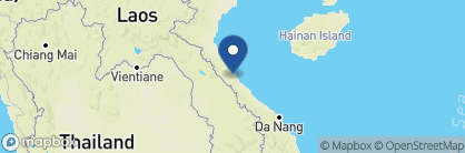 Map of Phong Nha Lakehouse, Vietnam
