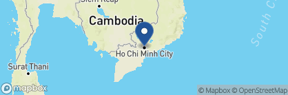Map of Pandaw River Expeditions, Vietnam