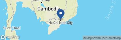 Map of Sofitel Plaza Hotel, Saigon, Vietnam