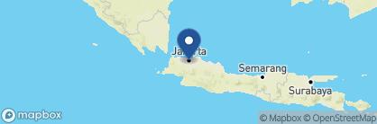 Map of Dharmawangsa, Indonesia
