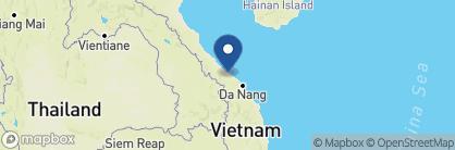 Map of Villa Hue, Vietnam