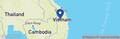 Map of Hoang Van Hotel, Vietnam