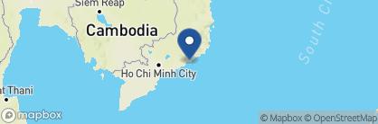 Map of Anantara Mui Ne Resort and Spa, Vietnam