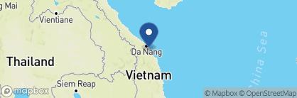 Map of Vinh Hung Merchant's House, Vietnam