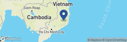 Map of Dalat Palace, Vietnam