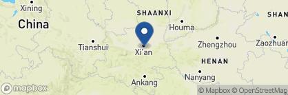 Map of Grand Mercure Xian Renmin Square, China