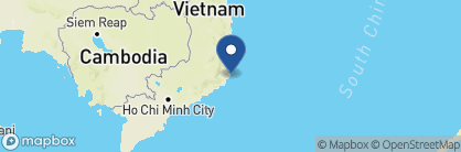 Map of Amanoi, Vietnam