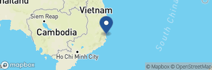 Map of Evason Ana Mandara, Vietnam