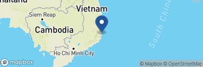 Map of Mia Nha Trang, Vietnam