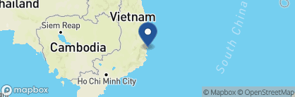Map of An Lâm Retreats Ninh Van Bay, Vietnam